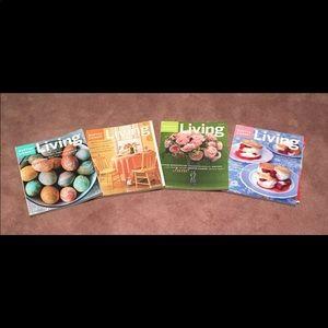 Bundle-4-Martha Stuart Magazines-April-July 2003